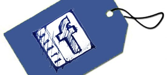 Facebook Tag Blue