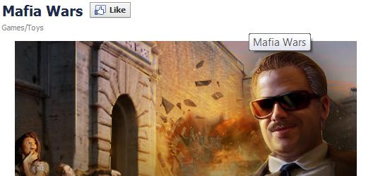 Mafia Wars Facebook Page Image
