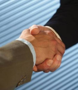 1st Meeting Handshaking