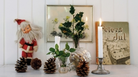Christmas decoration via tidningenlantliv.se