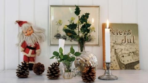 Christmas decoration via tidningenlantliv.se