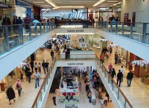 Shopping Mall by Charlie Brewer flickr