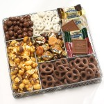 Broadway Basketeers Deluxe Chocolate and Nut Gourmet Christmas Gift Basket