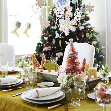 christmas table centerpiece ideas festive setting