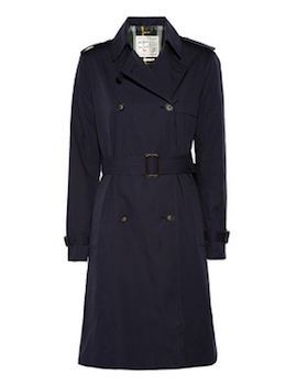 Aubin & Wills | Colson cotton trench coat | NET-A-PORTER.COM