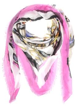 Balenciaga | Exotic Silk Scarf Anima