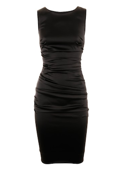 Black Glamour Dress Carlotta