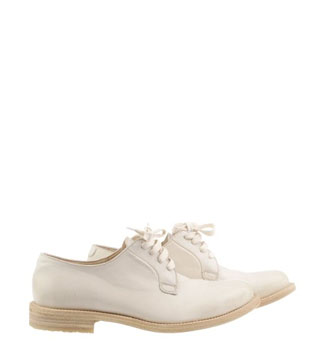 Brunello Cucinelli | Creme Derby Shoes Luca