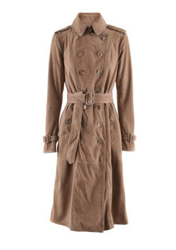 Burberry Prorsum | New Nude Velours Trench