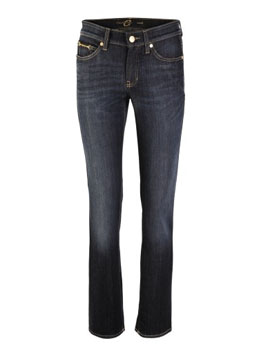 Cambio | Dark Blue Straight Jeans Nora