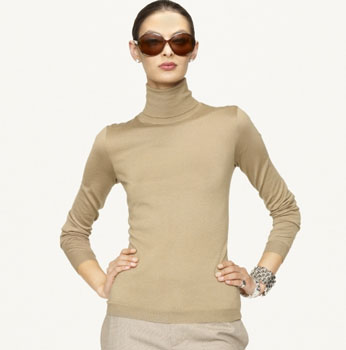 Cashmere-Silk Turtleneck - Turtlenecks Sweaters - Ralph Lauren UK