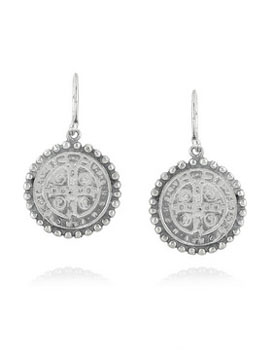 Chan Luu | Silver coin earrings | NET-A-PORTER.COM