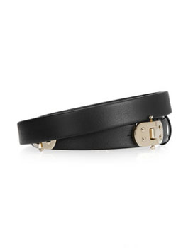 Chloé | Hinged leather waist belt | images