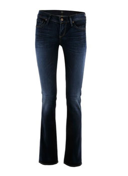 Citizens of Humanity | Blue Straight Leg Jeans Ava