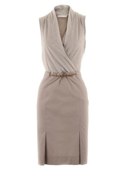 Fabiana Filippi- Silver I Taupe Dress Missaggio