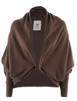 Friendly Hunting | Chocolate Cashmere Cardigan Circle