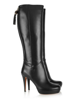 Gucci | Leather knee boots | Images