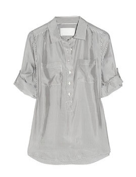 J.Crew | Marlice striped silk shirt | NET-A-PORTER.COM