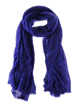 Odeeh | Violet Blue Cashmere Scarf / image example