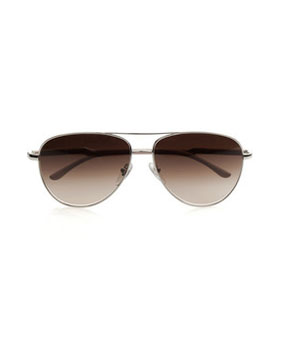 Stella McCartney | Metal and acetate aviator sunglasses |