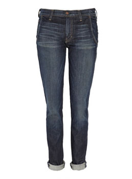 TEXTILE Elizabeth and James | Iggy low-rise tapered-leg jeans | NET-A-PORTER.COM