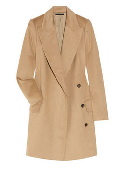 The Row | Fessing camel wool coat | example photo