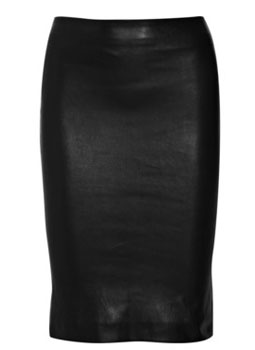 The Row | Sandhurst leather pencil skirt | NET-A-PORTER.COM