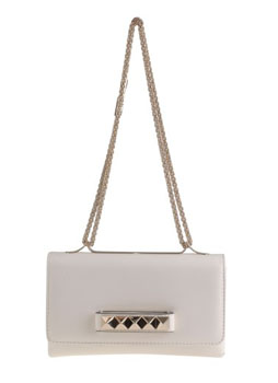 Valentino| Small White Chainbag Voom