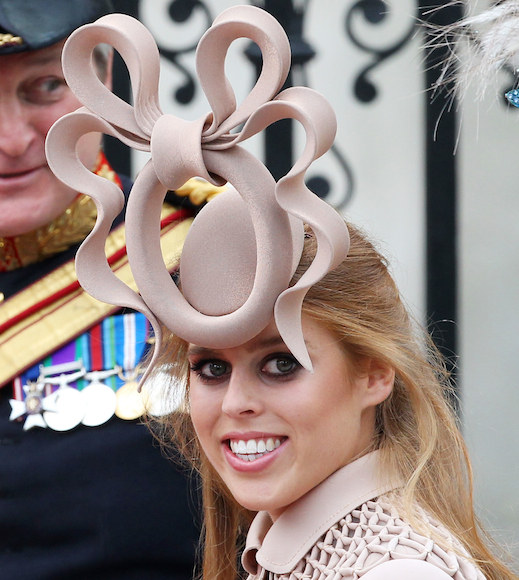 royal wedding princess beatrice hat