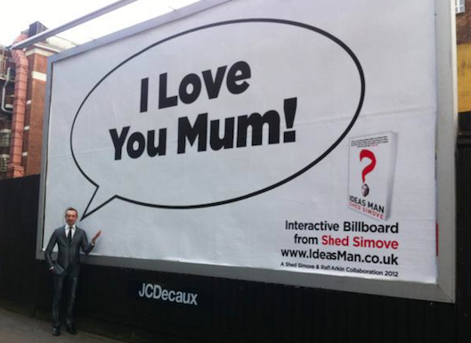 Mother's Day Interactive Billboard London Grafton Way