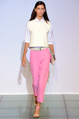 Costume National Spring 2012 Pastel