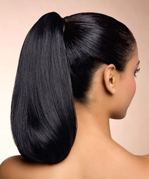Business Professional Hairstyle High Ponytail via schwarzkopf.com