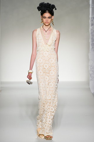 Moschino Spring 2012 Lace