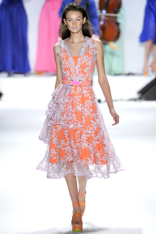 Nanette Lepore 2012 Spring Lace