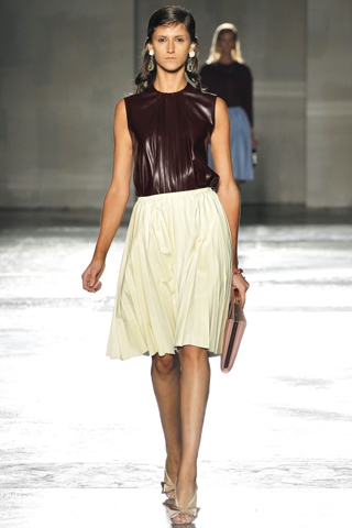 Prada Spring 2012 Pleated Skirt