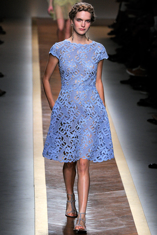 Valentino Spring 2012 Lace