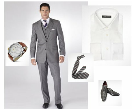 What to wear to graduation ceremony - male guests example