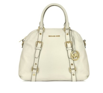 michael kors genuine leather satchel bag