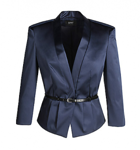Stretch satin jacket - Esprit